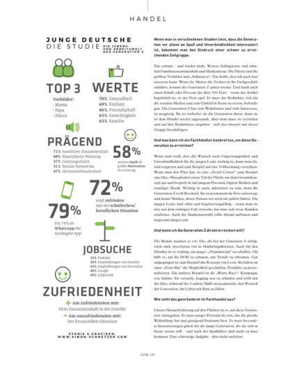 Linie International 01/2020: Generation Z Interview Hobmaier