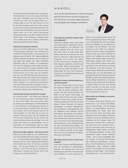 Linie International 02/2020: Interview Hobmaier